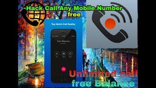 Any number call🛂unlimited 😆balance Call 😈Recorder Int. Free balance||Technical Goutam Bhai|| Video