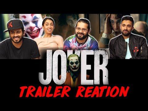 JOKER - Final Trailer - Group Reaction