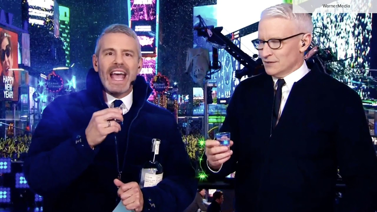 'CNN New Year's Eve' 2020 promo
