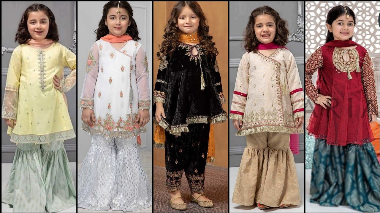 Latest And Beautiful Baby Girls Party Wear Wedding Wear Designer Dresses 2020 Youtube,How Much Do Gypsy Wedding Dresses Cost