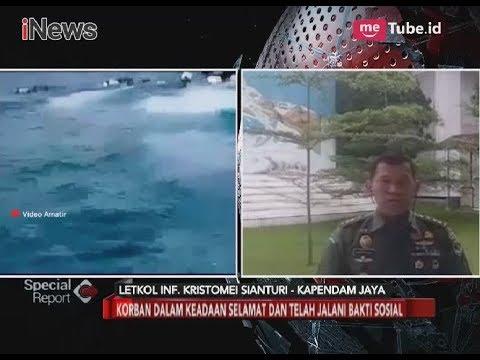 Kapal KMC Kodam Jaya Tenggelam, Keadaan Korban Dipastikan Selamat - Special Report 13/03