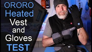 ORORO Heated Gloves and Vest, Do They Work?