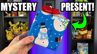 MYSTERY POKEMON CARD PRESENT CONTAINING SURPRISES | Box Opening!