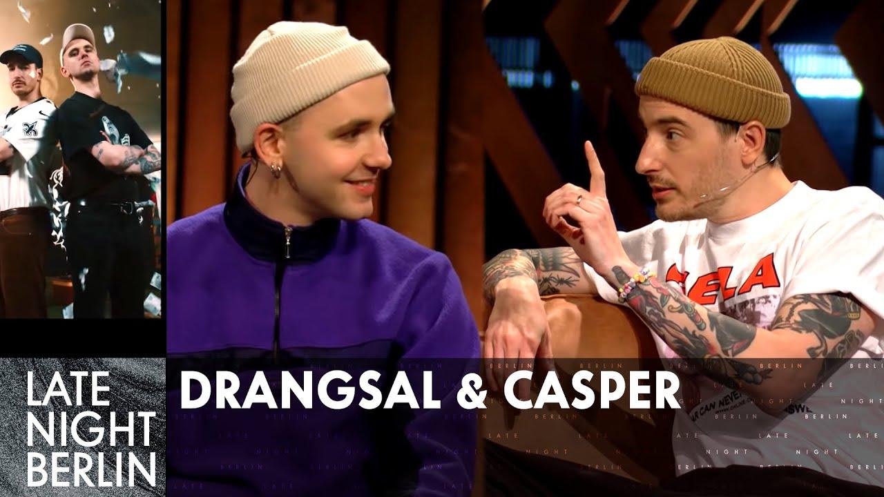 Gute Laune-Manager Drangsal über Caspers Hochzeit   Casper und Drangsal im Talk   Late Night Berlin