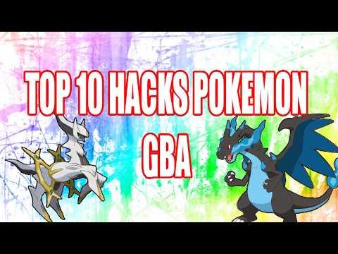 TOP 10 HACKS POKÉMON GBA (2017)