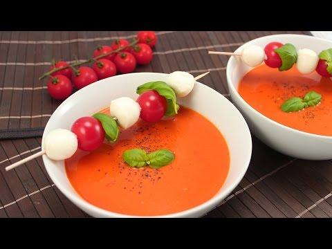 Tomatencremesuppe- schnell und einfach