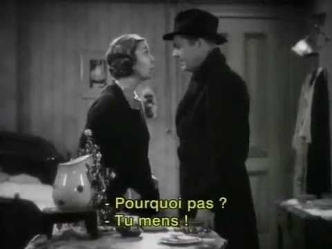 "2 of 2: Scenes from ""Hello, Sister!"" (1933) James Dunn, Boots Mallory, ZaSu Pitts, Minna Gombell"