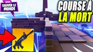 He's putting his Nocturno on the line! Race to Death! Fortnite Saving the World