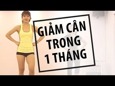 Bài tập HIIT giảm cân trong một tháng | Hana Giang Anh | Workout #14