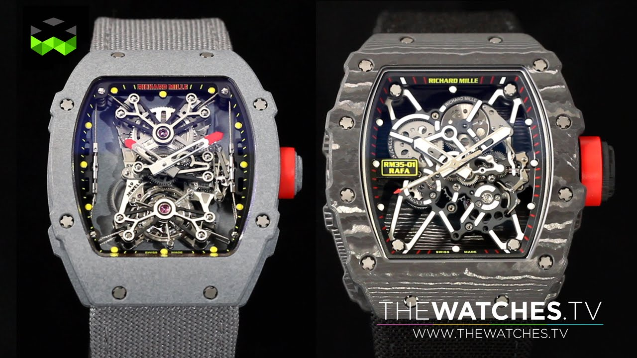 Richard Mille Nadal Family Rm27 01 Ultra Lightweight Tourbillon And The New Rm35 01