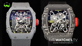 Richard Mille Nadal Family: RM27-01 ultra lightweight tourbillon and the new RM35-01