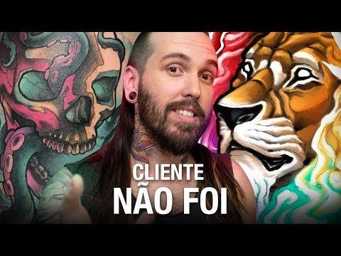 Caveira e polvo Neo Trad   Leão psicodélico   Headphone - RESUMO DA SEMANA   Vlog #92