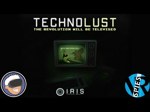 Checking Out The New Oculus Touch Support In Technolust And It's AWESOME!