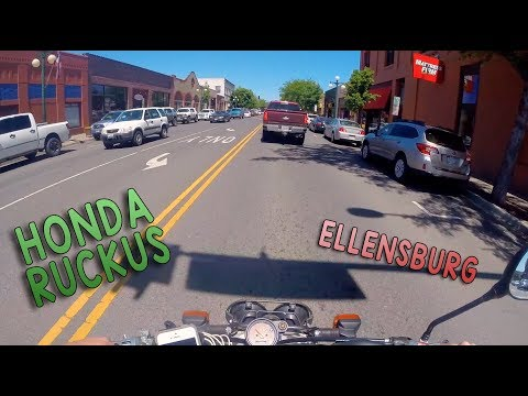 Honda Ruckus POV in Ellensburg Washington - Machines For Kids
