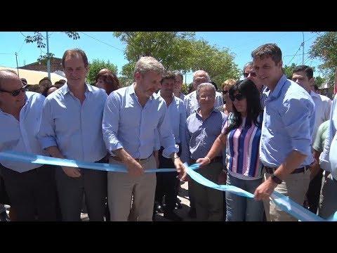 Frigerio acompañó a Bordet en la inauguración de obras en Entre Ríos