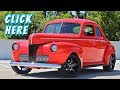 1941 Ford 5-Window Coupe / Police Interceptor V8 Swap