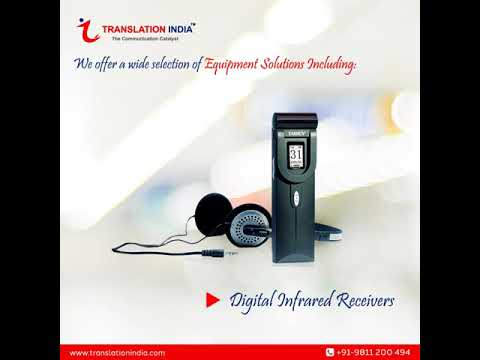 Conference Interpreting Equipment & Translation System Solutions