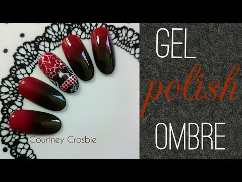 How to ombre with gel Polish (no ombre brush)
