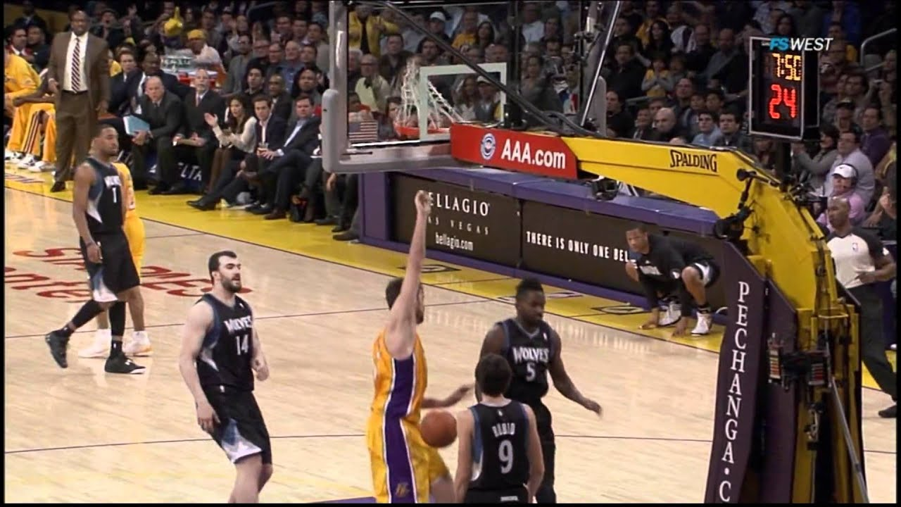 Lakers vs Timberwolves Highlights (29.02.2012) - YouTube