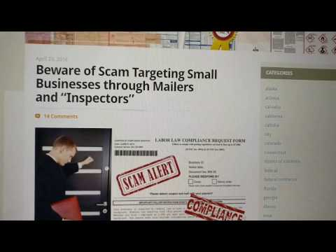 2-Minute Tip: Corporate Compliance Scam - YouTube