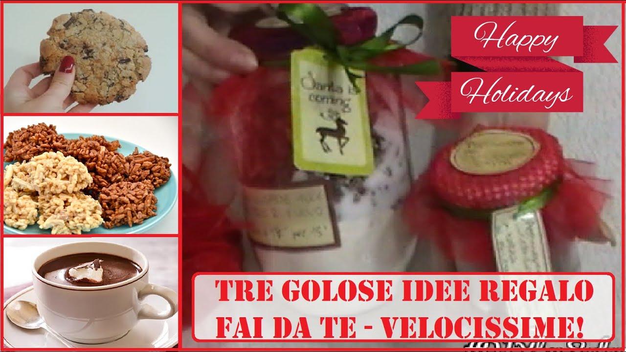 Tre Golose Idee Regalo dell\'ultimo Minuto!! Facili & Veloci - DIY ...