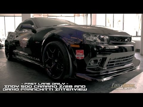 Dario Franchitti to Drive Chevrolet Camaro Z/28 Indy 500 Pace Car - Fast Lane Daily