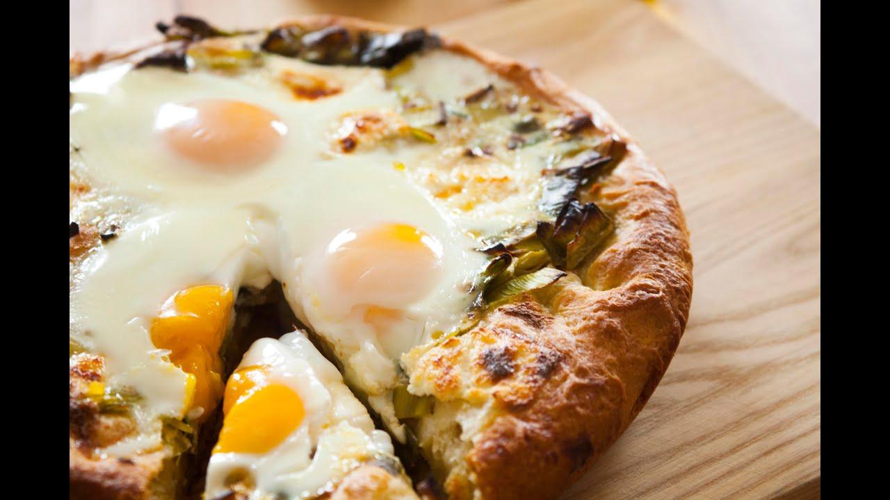 Leek top breakfast bread with oozy eggs recipe scraps joel leek top breakfast bread with oozy eggs recipe scraps joel gamoran youtube forumfinder Choice Image