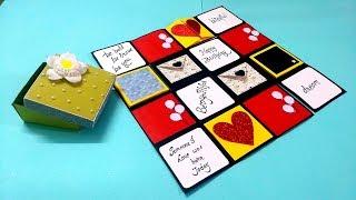 Beautiful Handmade Gift Idea For Birthday   Birthday Card Idea   Complete Tutorial