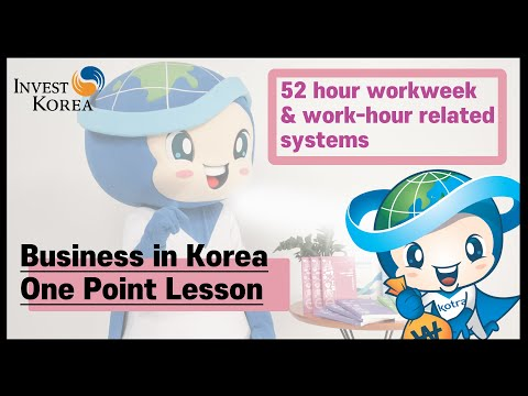 The 52-hour workweek and related workhour systems 이미지