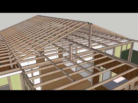 Small House Construction - Materials Animation Sequence