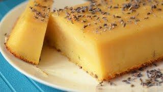 Lavender Lemon Pudding – Video Recipe