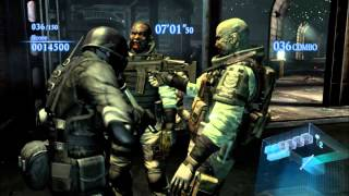 Resident Evil 6   HUNK   The Mercenaries   Rooftop Mission