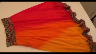 Easy Full Umbrella Ghagra Marathi