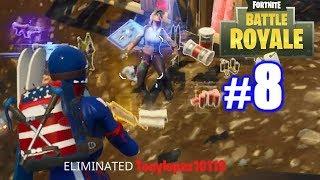 MY HIGHEST KILL GAME EVER! | Fortnite (PS4) | Battle Royale #8