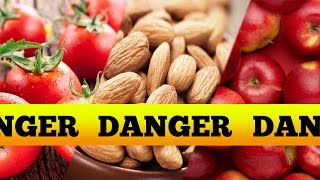 Poisonous Foods We Like To Eat