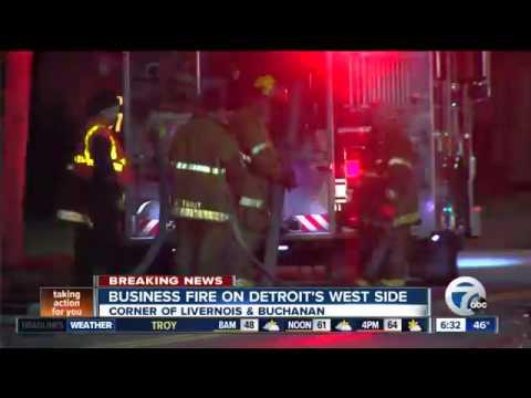 Firebombing At Detroit Business