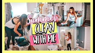 Summer Deep Clean With Me