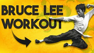 TOP 5 Bruce Lee Workouts - 5 Best Leg Exercises & Squat Training