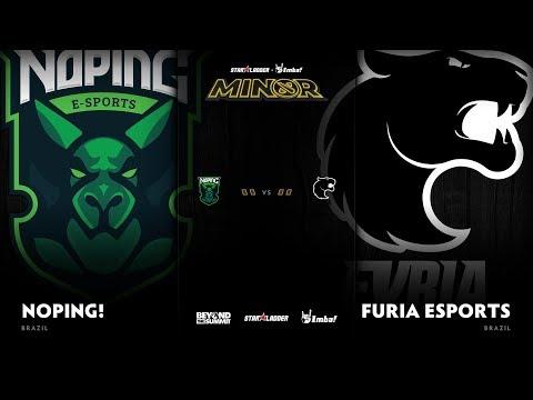 NoPing e-sports vs FURIA Esports Game 3 - SL ImbaTV D2 Minor S3 SA Qualifier: Semifinals