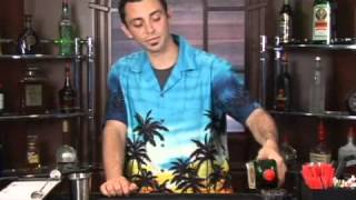 How to Make the Fire Truck Mixed Drink