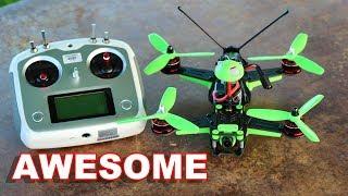 Awesome RTF Race Drone (4S) - KingKong Race 230 FPV Acro Racing - TheRcSaylors
