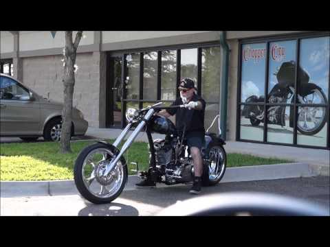 Kenny's Chopper by Dave Welch Chopper City USA