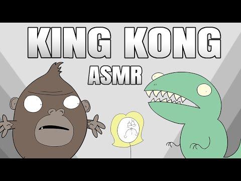 ASMR KING KONG (ASMR Cartoon Parody)