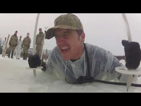 Royal Marine mountain and cold weather warfare training Norway 2013
