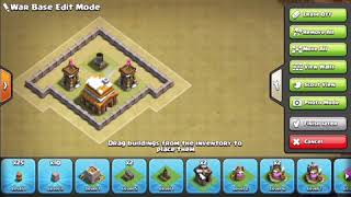 *BEST 2020* TH5 Clash of Clans BASE!