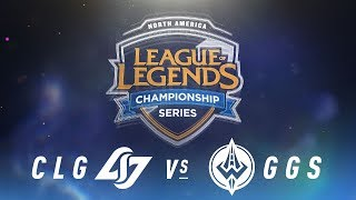 Video CLG vs. GGS - Week 6 Day 2 | NA LCS Spring Split | Counter Logic Gaming vs. Golden Guardians (2018) download MP3, 3GP, MP4, WEBM, AVI, FLV Juni 2018