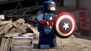 Marvel Serisi -  Captain America (Kaptan Amerika) LEGO #2