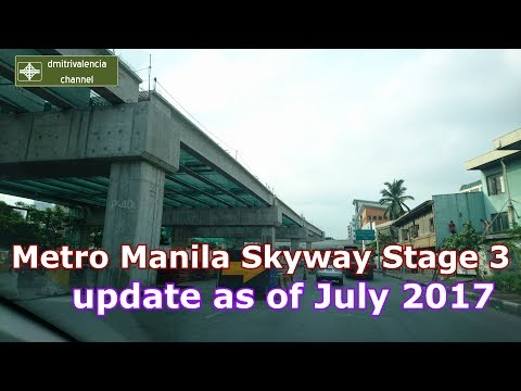 Metro Manila Skyway Stage 3 update as of July 2017