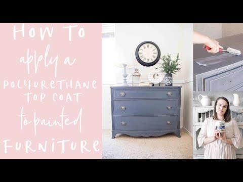 How to Apply Polyurethane Over Paint-Easiest Method!
