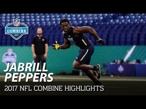 Jabrill Peppers (Michigan, LB/DB) | 2017 NFL Combine Highlights